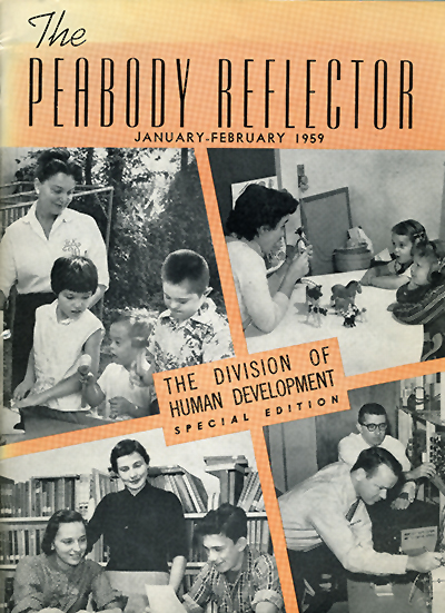 Photo of the Peabody Reflector special edition magazine, January 1959