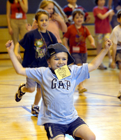 Photo from the TRIAD summer camp program