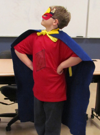 """<p>(June - August 2012)</p><p>In 2011, with VSA national funding, VSA Tennessee began a """"dream"""" project: a fashion design course for young people with autism focused on creating Superhero costumes. In March and April, 23 youth attended sessions in the Human Sciences Department of Middle Tennessee State University. The youth created hand sketches and renderings, worked on Adobe Illustrator and InDesign, operated Brother Innovis 500D sewing machines, and presented a public style show of their costumes.</p><p> VSA Tennessee (<a href=""""www.vsatn.org"""">www.vsatn.org</a>) provides opportunities for people with disabilities to participate in and express themselves through the arts and arts education. It is an affiliate of VSA (<a href=""""www.vsarts.org"""">www.vsarts.org</a>), a part of the John F. Kennedy Center for the Performing Arts in Washington, DC, and was founded in 1974 by Jean Kennedy Smith.</p>"""