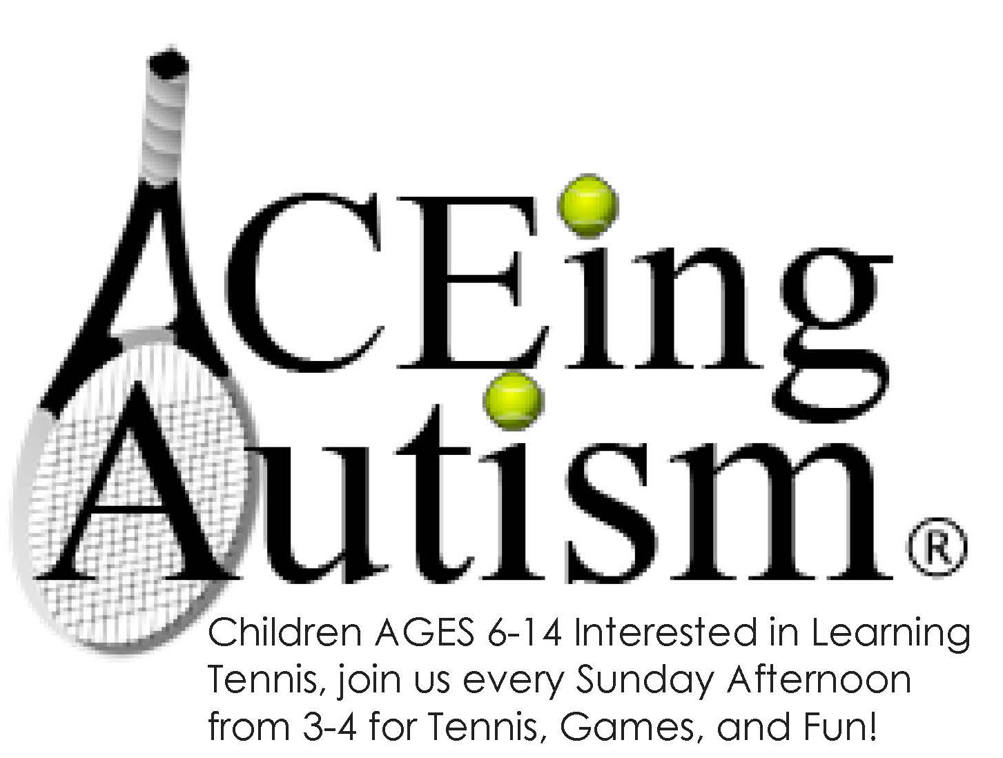 ACEing Autism, organized by Vanderbilt student Chandler Semjen, is seeking children with autism ages 6-14 to learn the game of tennis and have fun at the same time.