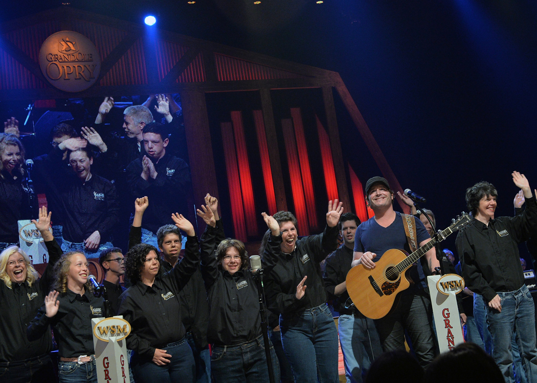 For one magical week in June, music-making dreams came true in a unique partnership between the Vanderbilt Kennedy Center and ACM  Lifting Lives, the philanthropic arm of the Academy of Country Music.