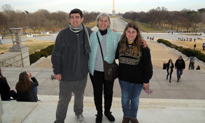 Next Steps at Vanderbilt students Haley Kellar and Hardin Manhein, along with Next Steps director Tammy Day, attended the Youth Act Leadership training in Washington, D.C. on January 17-19. Youth Act aims to equip youth with disabilities, ages 12 to 25, with skills and knowledge in leadership and advocacy so they can speak up about what all youth need to be successful during the transition to adulthood.
