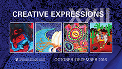 "<p>( October - December at the Vanderbilt Kennedy Center and the Tennessee Performing Arts Center)</p><p>Sponsored by the Vanderbilt Kennedy Center, this free annual exhibit features works of art by artists with a wide range of abilities/disabilities and ages.</p><p><a href=""http://www.tpac.org/visiting/directions.asp"">Tennessee Performing Arts Center Lobby</a>, 505 Deaderick Street, Nashville, TN; call (615) 782-4000 for hours</p>"