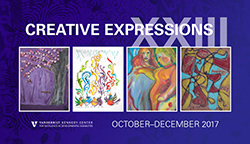 "<p>(October - December at the Vanderbilt Kennedy Center and the Tennessee Performing Arts Center)</p><p>Sponsored by the Vanderbilt Kennedy Center, this free annual exhibit features works of art by artists with a wide range of abilities/disabilities and ages.</p><p><a href=""http://www.tpac.org/visiting/directions.asp"">Tennessee Performing Arts Center Lobby</a>, 505 Deaderick Street, Nashville, TN; call (615) 782-4000 for hours</p>"