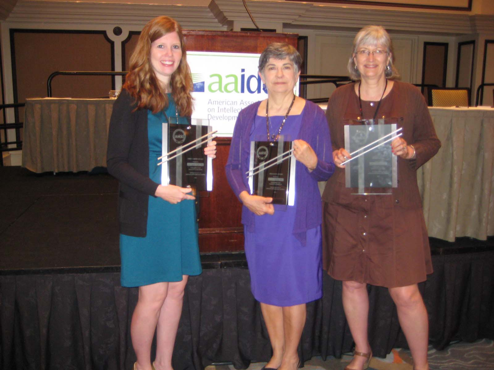 VKC faculty, staff earn awards at AAIDD Meeting in Orlando