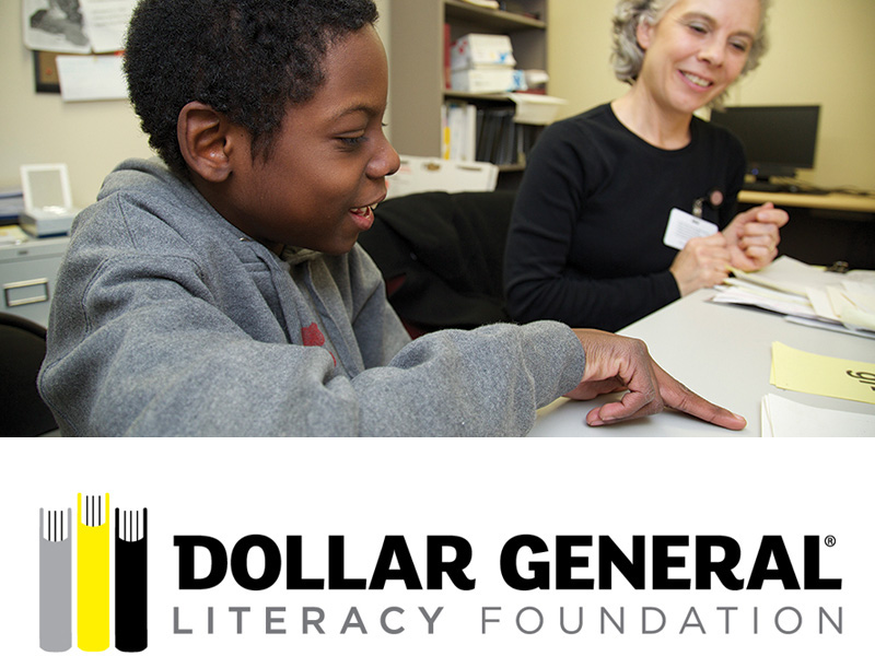 The Dollar General Literacy Foundation has awarded a $40,000 Youth Literacy grant to the Vanderbilt Kennedy Center (VKC) Reading Clinic to provide partial and full scholarships to families of children who would not otherwise be able to afford clinic services.